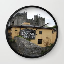 Durty Nellys And Bunraty Castle Wall Clock