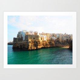 Paradise in Puglia Art Print