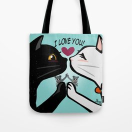 Love you cats Tote Bag