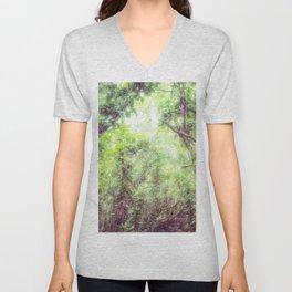 Dreamy Jungle Canopy Unisex V-Neck