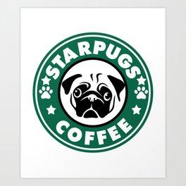 Starpugs Coffee Art Print
