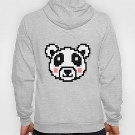 Video Game Panda 16 Bit Retro Vintage Graphic Gaming Animal Kids Gift Idea Hoody