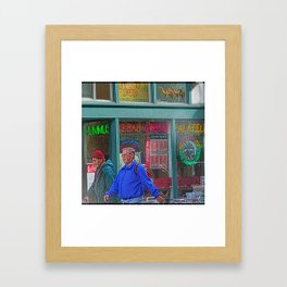 Gyros of Seattle Framed Art Print