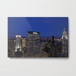 Midtown Manahttan as seen from up high Metal Print