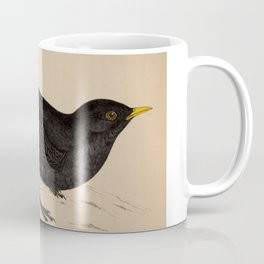Naturalist Blackbird Coffee Mug