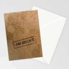 Broke Stationery Cards