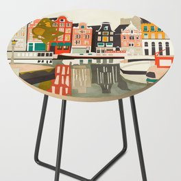shapes houses of Amsterdam Side Table