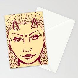 Devil Woman Stationery Cards