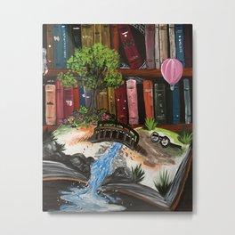 Book Experience Metal Print
