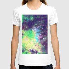 Green Galaxy T-shirt