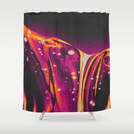 RIBCAGE FIREPLACE Shower Curtain