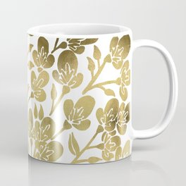 Cherry Blossoms – Gold Palette Coffee Mug