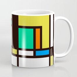 Mondrian 3 Coffee Mug