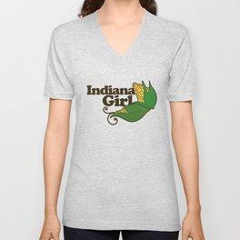Indiana Girl Unisex V-Neck