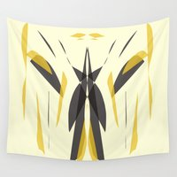 knight Wall Tapestries featuring Knight by lillianhibiscus