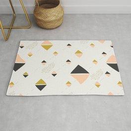 Abstract rhombuses Rug
