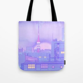 Blue Nostalgia Tote Bag