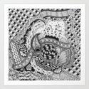 Zentangle®-Inspired Art - ZIA 22 by tenthousandtangles
