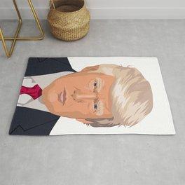 Donald Trump Face Rug