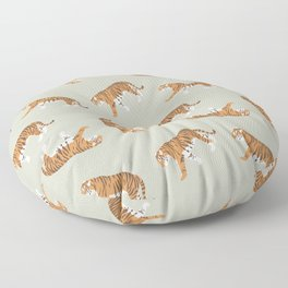 Tiger Trendy Flat Graphic Design Floor Pillow