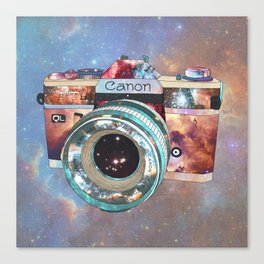 SPACE CAN0N Canvas Print
