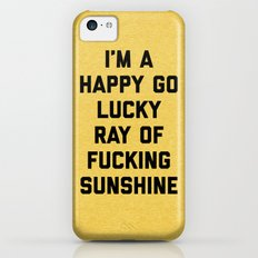 Ray Of Sunshine Funny Quote iPhone 5c Slim Case