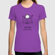WINNER by ISHISHA PROJECT Womens Fitted Tee Ultraviolet MEDIUM