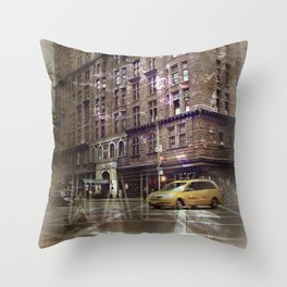 jaywalk Throw Pillow