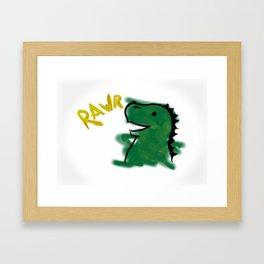The Little Dinosaur Framed Art Print