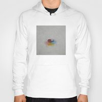 happiness Hoodies featuring Happiness by Michael Creese