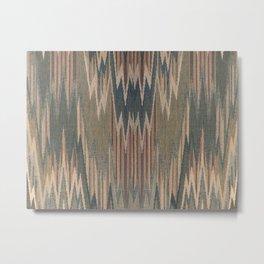 Native Cod Grey Metal Print