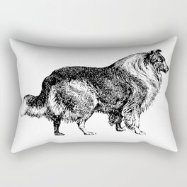 The Collie Rectangular Pillow