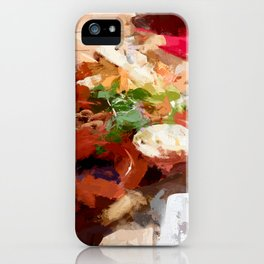 Breakfast for tourists in Groningen - Netherland iPhone Case