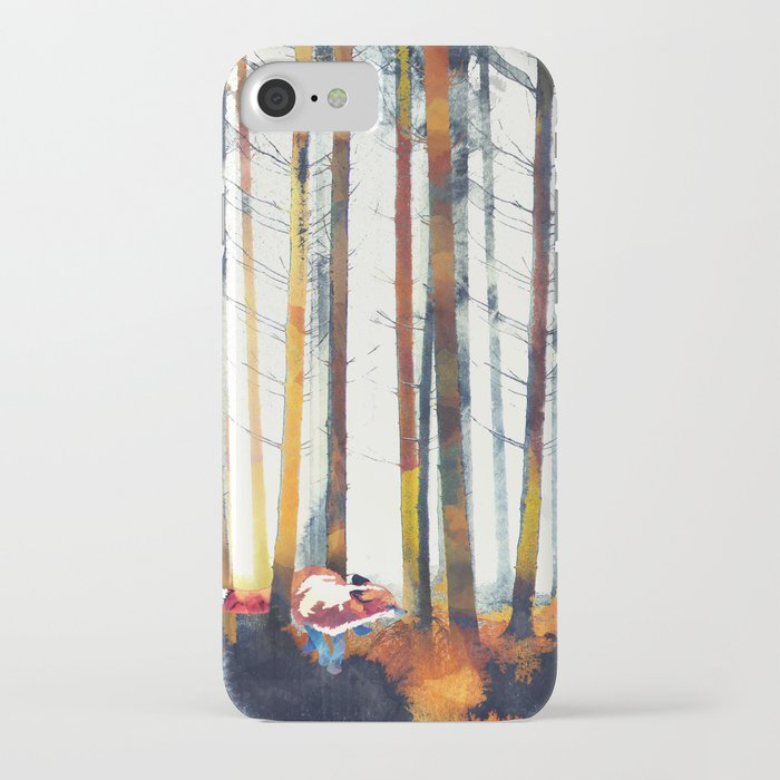 autumn hunt iphone case