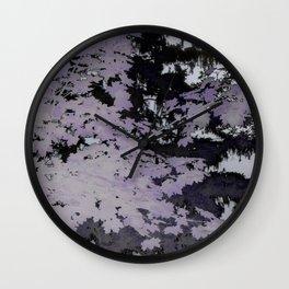 Purple Trees Landscape | Nadia Bonello | Canada Wall Clock