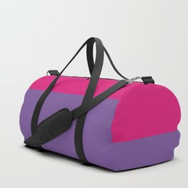 Bisexual Pride Duffle Bag