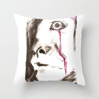 kill la kill Throw Pillows featuring kill by cistus skamberji