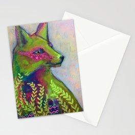 Wild Side Fox Stationery Cards