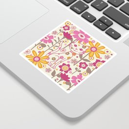 Garden Cat Sticker