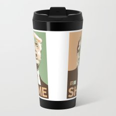 Not So Much with the Hope Now Metal Travel Mug