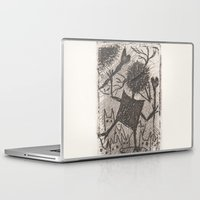 sport Laptop & iPad Skins featuring Sport crow by KRADA ZHAN ART