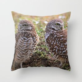 Love Is Instinctual Not Rational Throw Pillow