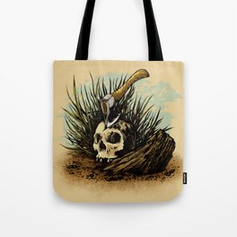 Prepare your hearts for Death's cold hand! Tote Bag