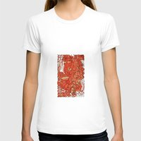 wood T-shirts featuring - wood - by Magdalla Del Fresto