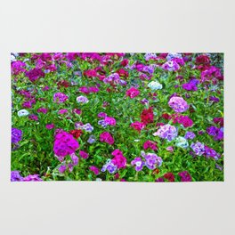 Colorful meadow Rug
