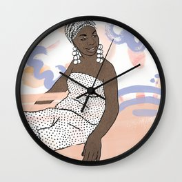 Nina Simone Wall Clock