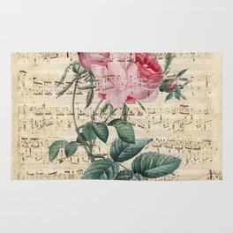 Rose Poetry Rug
