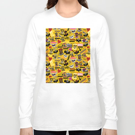 LOLzig Pattern Long Sleeve T-shirt