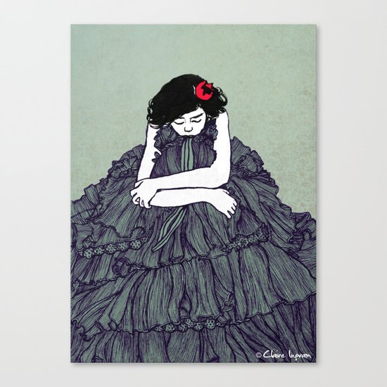 Ink 001 Canvas Print