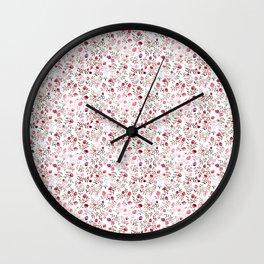 pomegranates Wall Clock